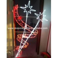 China 2d Led Pole Motif Light Outdoor Led Christmas Street Decorations Light City Holiday Lights on sale