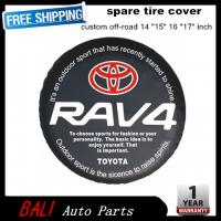 Cheap Free shipping Factory direct sale PVC car spare wheel cover spare tire cover 16 inch for SUV TOYOTA RAV4 RF-TA-43 for sale