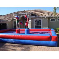 Cheap Funny Inflatable Gladiator Joust Game Innovative Fighting Games For Kids for sale