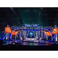 Cheap 4.8MM Rental SMD Stage LED Screens High Definition High Reftresh Rate for sale