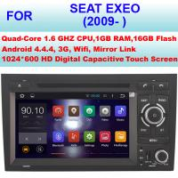Cheap OBD Internet 2009+ Seat Exeo Car Radio GPS , Double Din Car Stereo Bluetooth Sat Nav for sale