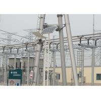 China ASTM A36 Hot dip Galvanized Substation Steel Tubular Structures,  Beam and Gantry Frame Structures on sale