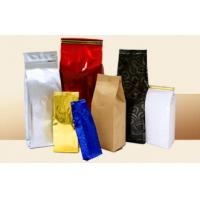 Buy cheap AL PE Paper Full Printing Tea Bags Packaging Square Bottom Stand Up Zipper from Wholesalers
