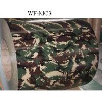 Cheap Camouflage Patterned Color Coated Steel Coil , Galvalume Steel Coil for sale