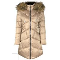 China Thick Womens Warm Waterproof Coat , ODM OEM Womens Long Puffer Jacket With Hood on sale