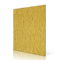 China Marble Stone Aluminum Composite Panel Outdoor Foil Decoration Anodized on sale