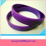Cheap debossed  bracelet for sale