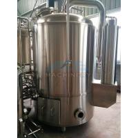 Cheap 1000L Red Copper Shell Inner Stainless Steel Three Vessels Brewhouse for sale