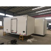 Cheap Sinotruk Refrigerated Loads For Trucks , 6x4 Small Refrigerated Truck for sale