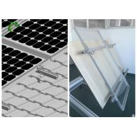Cheap High Flexibility PV Mounting Systems / Solar Panel Rail Mounting System for sale