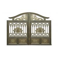 Cheap Architectural Wrought Iron Cast Iron Garden Gate European Style for sale