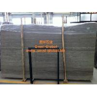 Cheap Polished Coffee Wood Vein Marble Stone Slab/ Tile/ Wall Tile for sale