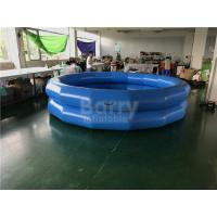Cheap Children Indoor And Outdoor Water Playing Pool 2 Ring Round Inflatable Swim Pool for sale