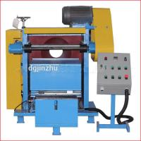 Stainless Steel Polishing Machine , Automatic Polishing Machine PLC Control With Touch Screen