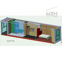 China Custom shipping container homes on sale