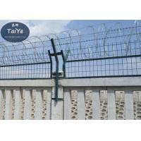 Cheap Military Field Silver Razor Blade Wire Fence 450mm 500mm Outside Diameter for sale