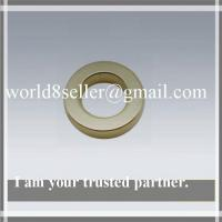 NdFeB Ring Magnet Sintered Ndfeb N35 With Bright Nickel Plating