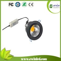 China White/black/silver housing Meanwell Dali dimmable driver 6-50W led downlight/ceiling light on sale