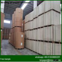 Cheap High brightness 200g 250g 300g 350g Art card paper in China for sale