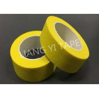 Cheap High Temperatrue Paper Masking Tape For Electronics / Automotive 0.15mm Thickness for sale