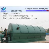 China Used Tyre Processing Machine to Get Fuel Oil, Carbon Black, and Steel on sale