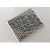 Cheap Multi Function Black Pvc Wall Panels With Silver OEM / ODM Available for sale