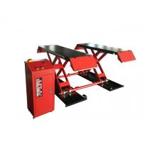 China Optional Color Small Scissor Lift 3000kg , Car Scissor Lifts For Home Garage on sale