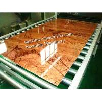 China PVC imitation artificial stone marble board wall panel/wall sheet production line on sale
