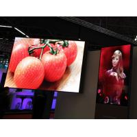 Buy cheap Full Color Stage LED Screen 1R1G1B Slim Large High Resolution indoor led screen rental Wide View Angle from wholesalers