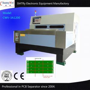 Cheap V Cut Machine CNC Making V - Cut Line V Groove Marking Machine On PCB Panel for sale