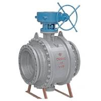 Cheap API Fixed Flanged Ball Valve , Trunnion Ball Valve Flanged End With Cast Steel for sale