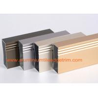 Cheap Anodized 6063 - T5 Aluminum Extrusion Profiles Rectangular Hollow Shaped for sale