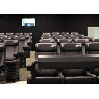 Quality Customized Environmental 4D Cinema Equipment / Electric 4D Motion Seats wholesale