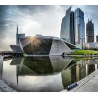 Cheap Hot curved glass laminated toughened glass Guangzhou Opera House for sale