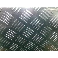 Cheap AA1100/3003/3105/5052 Standard Five Bar Aluminum Tread Plate Thickness 1.00mm-12.00mm for sale