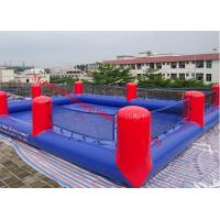 Cheap inflatable football pitch inflatable football field inflatable soap football field for sale