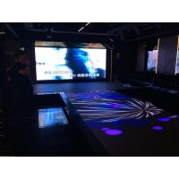 Cheap Anti - Skid Vivid Video Interactive Car Led Video Dance Floor For Wedding 100 - 240V for sale