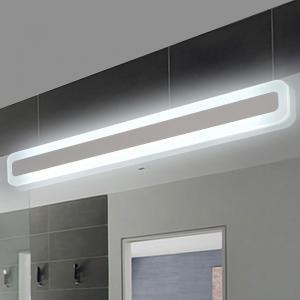 Modern bathroom toilet led front mirror lights for bathroom acrylic