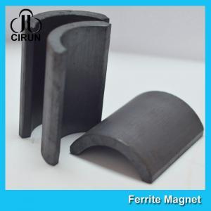 Y30BH C5 C8 Grade Ferrite Arc Magnet For BLDC Ceiling Fan Motor Eco Friendly