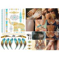 Cheap Transformers Temporary Metallic Tattoo Stickers Custom Designs Bling Shiny wholesale