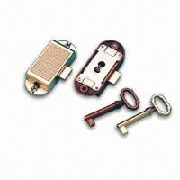 Cheap Rotating Bar Lock with Simple Key, Made of Zinc-alloy for sale