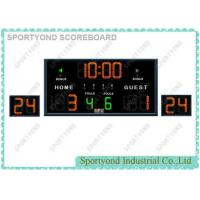 Cheap Multisport LED Basketball Scoreboard with 24 Seconds Attack Timers and inner Timer for sale