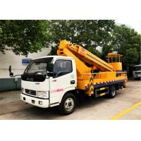 Cheap Dongfeng 20m Aerial Platform Truck , High Altitude Platform Bucket Lift Truck for sale