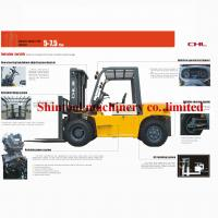 Cheap 7.0 Ton Oil Diesel Forklift Truck CPCD70  A-6BG1QC-02 Engine With TCM Technology for sale