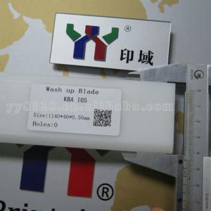 KBA 105 Wash Up Blade PTFE Material 1140*46*0.5 mm