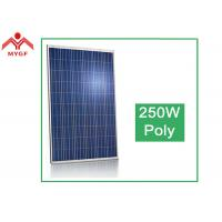 China Tempered Glass Polycrystalline Solar Panel Easy Maintenance High Transparent on sale