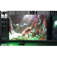 China Outdoor P6.25 Stage LED Display Cabinet Die Casting Black Single Color LED Display on sale