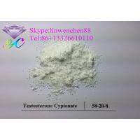 Cheap Raw Steroid powders 99% Testosterone Cypionate  CAS:58-20-8 White Crystal powder wholesale
