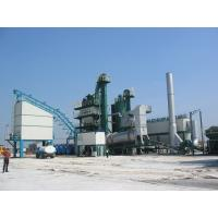 200KG Bitumen Weighing Capacity Asphalt Recycling Plant , Automatic Batching Plant Anti - Jam Structure