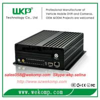 Cheap 8 channel mobile HDD mdvr support remote view CE FCC certified for sale